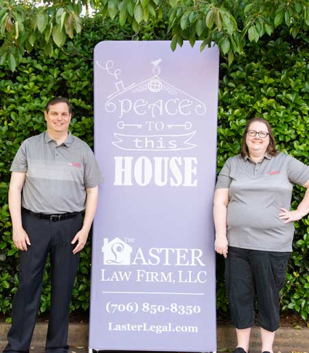 Laster Law Firm Banner